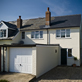 See detail of 2 story cottage extension, Fishbourne, West Sussex